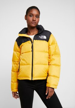 The North Face - RETRO NUPTSE JACKET - Daunenjacke - yellow