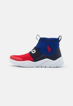 Polo Ralph Lauren - CHANING BOOTIE II - Sneakers hoog - red/navy