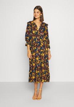 ONLY - ONLNALINA DRESS - Blusenkleid - black