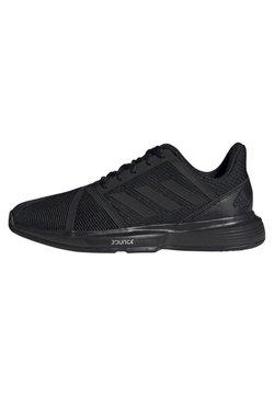 adidas Performance - COURTJAM BOUNCE SHOES - Tennisschuh für Sandplätze -  black/grey