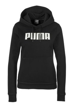 Puma - ESSENTIALS - Kapuzenpullover - cotton black