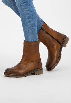 Travelin - VIMPELI - Ankle Boot - cognac