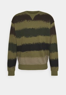 Benetton - LOGO CREW NECK - Sweatshirt - green