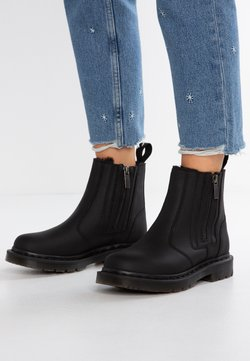 Dr. Martens - 2976 ALYSON ZIPS SNOWPLOW - Bottines - black