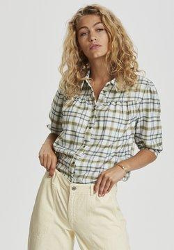 Denim Hunter - Camisa - oil green check