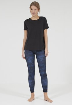 Endurance Athlecia - LIZZY - T-Shirt basic - black melange