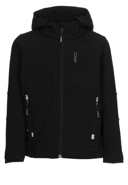 CMP - KID FIX HOOD UNISEX - Softshelljas - nero