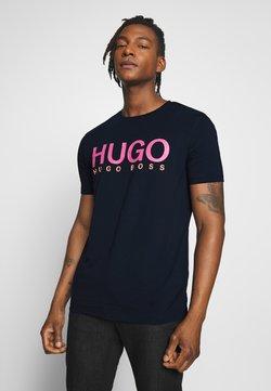 HUGO - DOLIVE - T-shirt imprimé - dark blue