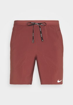 Nike Performance - FLEX STRIDE SHORT - Sports shorts - claystone red/reflective silver