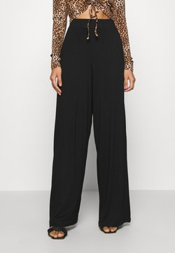 KENDALL + KYLIE - FLOW PANTS - Broek - black