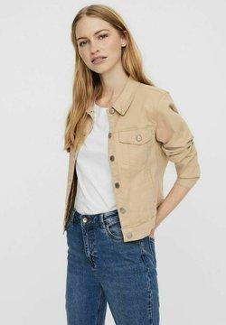 Vero Moda - Veste en jean - beige, mottled beige