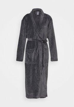 Calvin Klein Underwear - FLUFFY ROBE - Peignoir - black