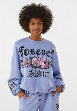 Bershka - Sweater - blue