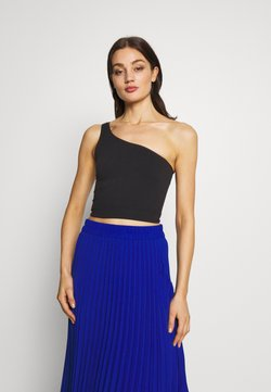 BDG Urban Outfitters - ONE SHOULDER SEAMLESS - Top - black
