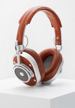 Master & Dynamic - MH40 OVER-EAR - Høretelefoner - brown/silver-coloured