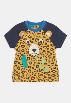Frugi - HAPPY RAGLAN UNISEX - Camiseta estampada - yellow