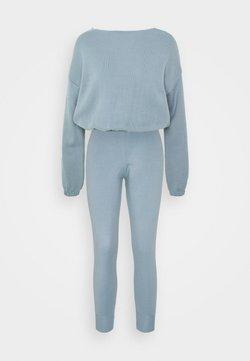 Trendyol - SET - Sweatshirt - blue