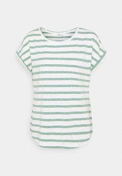 b.young - BYPAMILA O NECK - T-Shirt print - iceberg green