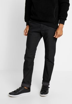 TOM TAILOR - WASHED STRUCTURE CHINO - Chinot - dark blue/grey