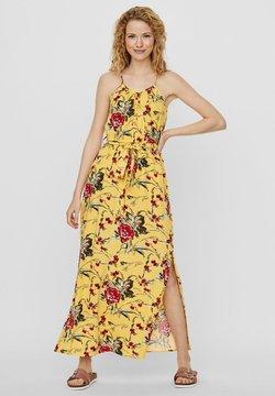 Vero Moda - Vestido largo - banana cream