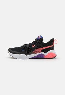 Puma - CELL FRACTION - Zapatillas de running neutras - black/ignite pink/elektro blue