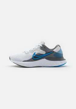 Nike Performance - RENEW RUN 2 - Zapatillas de running neutras - photon dust/photo blue/smoke grey/white