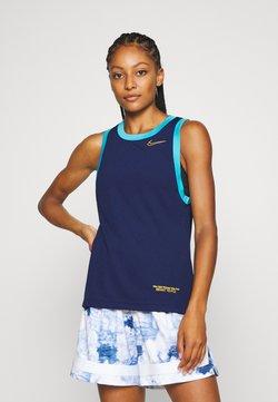 Nike Performance - DRY TOP - T-shirt de sport - blue void/blue fury/university gold