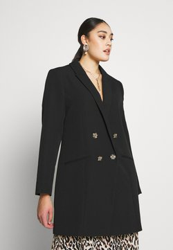 River Island Plus - Blazer - black