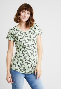 Supermom - TEE ZEBRA - T-Shirt print - smoke green