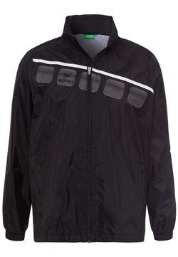 Erima - Regenjacke / wasserabweisende Jacke - schwarz / weiß