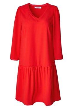Promod - COL V - Robe d'été - rouge