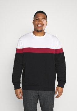 Pier One - Sweatshirt - white/red/black