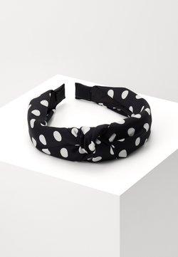 LIARS & LOVERS - POLKA DOT KNOT - Haar-Styling-Accessoires - black/white