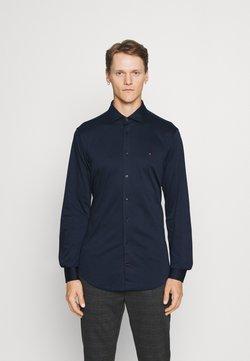 Tommy Hilfiger Tailored - SOLID SLIM SHIRT - Businesshemd - navy iris/white
