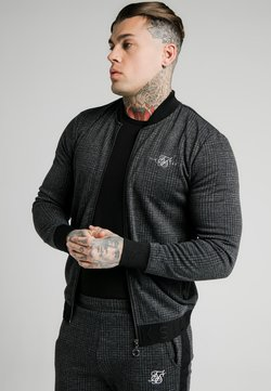 SIKSILK - TONAL CHECK BOMBER - Giubbotto Bomber - grey