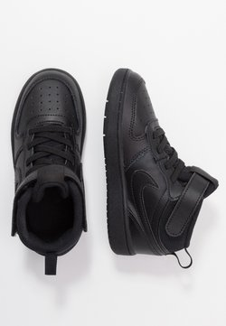 Nike Sportswear - COURT BOROUGH MID UNISEX - High-top trainers - black