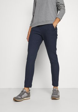 Jack Wolfskin - WINTER TRAVEL PANTS WOMEN - Outdoorbroeken - midnight blue