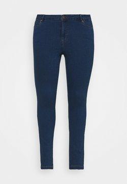 Vero Moda Curve - VMJUDY SLIM CURVE - Jean slim - medium blue denim