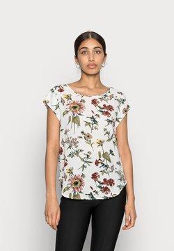 ONLY - ONLVIC - T-Shirt print - cloud dancer