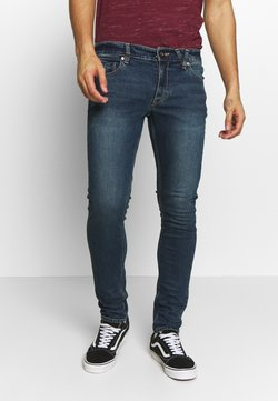 Volcom - Slim fit jeans - dark blue denim