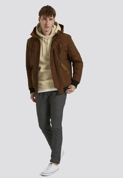 TOM TAILOR DENIM - Winterjacke - equestrian brown