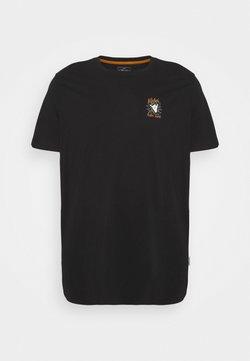URBN SAINT - ROGER TEE - T-shirt imprimé - black