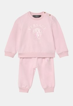 Versace - MEDUSA VIA GESU SET - Chándal - pink baby/white