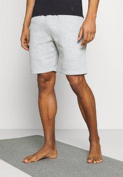 Curare Yogawear - SHORTS - kurze Sporthose - lightgrey melange