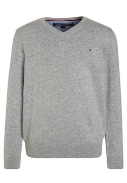 Tommy Hilfiger - BOYS BASIC - Jersey de punto - grey heather