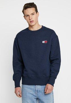 Tommy Jeans - BADGE CREW - Sweatshirt - blue
