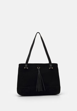 Anna Field - LEATHER - Shopping Bag - black