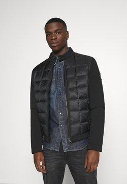 Calvin Klein Jeans - MOTO JACKET - Overgangsjakker - black