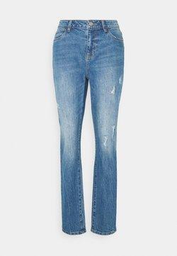Noisy May Petite - NMOLIVIA  - Straight leg jeans - medium blue denim