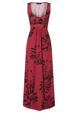 HotSquash - EMPIRE - Maxikleid - red with black flowers